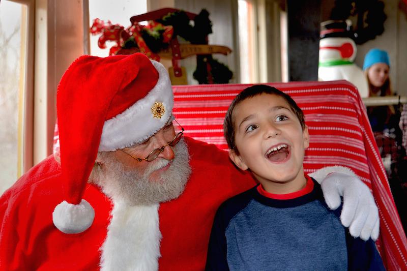 Santa-kid